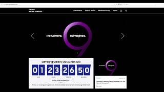 Watch Samsung Galaxy S9 Unpacked 2018 LIVE