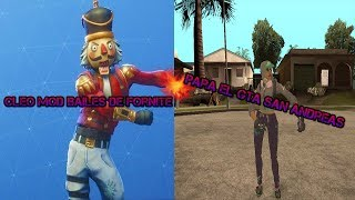 [Cleo Mods] Fortnite Dances For Gta San Andreas
