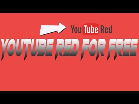 How to get YOUTUBE RED for FREE ON ANDROID