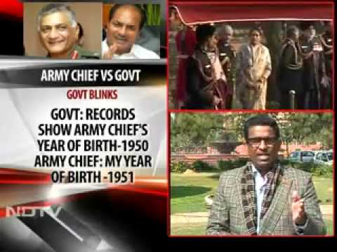 Indian Military Review CEO & Chief Editor NDTV (English) on Age Row Army chief