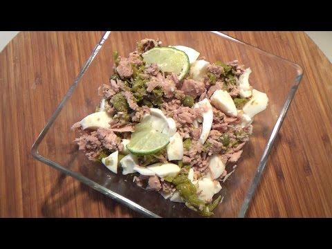 Салаты с тунцом, рецепты салатов из тунца