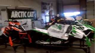 My Tour Of The Arctic Cat snowmobile manufacturing plant, Thief River Falls, MN