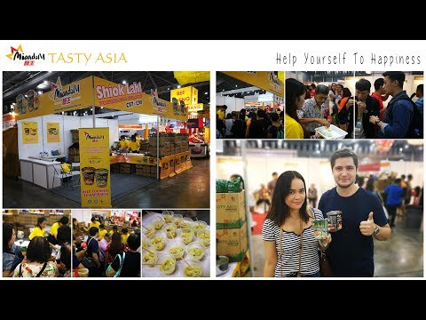 Miandom Tasty Asia Launch at the Asia Pacific Food Expo 2017