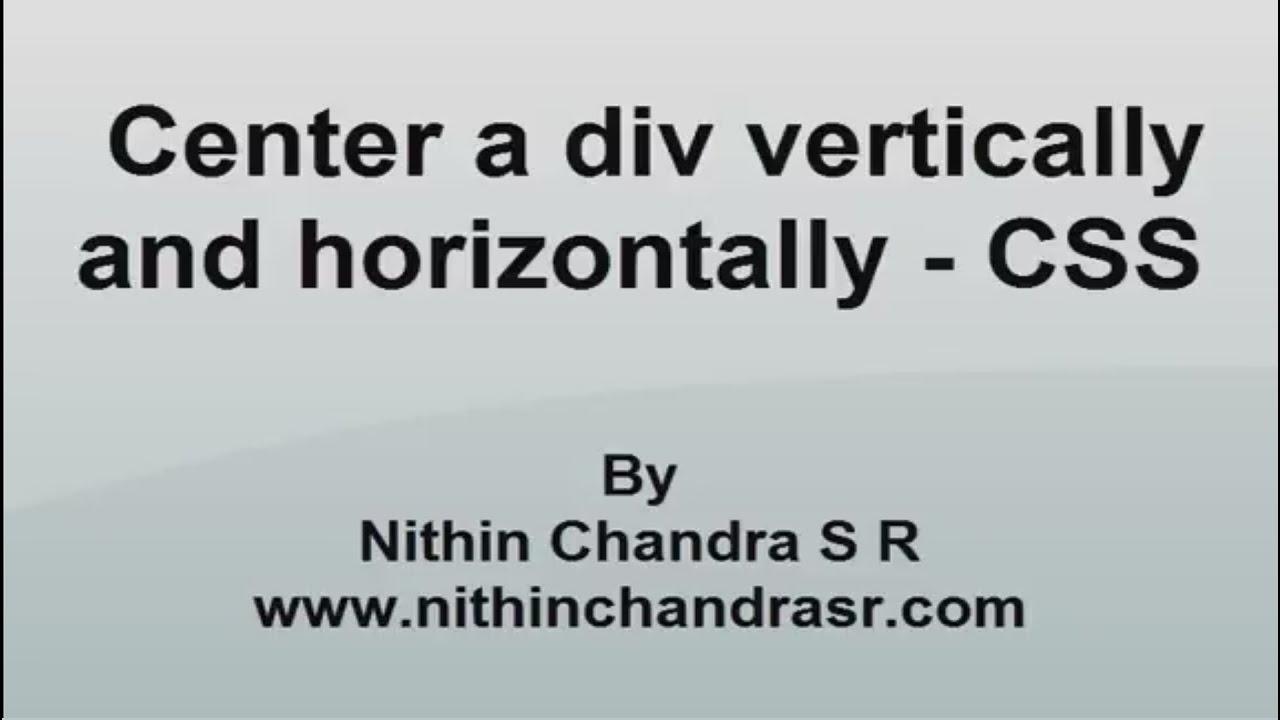 Center div vertically casamia idea di immagine - Center image in div ...