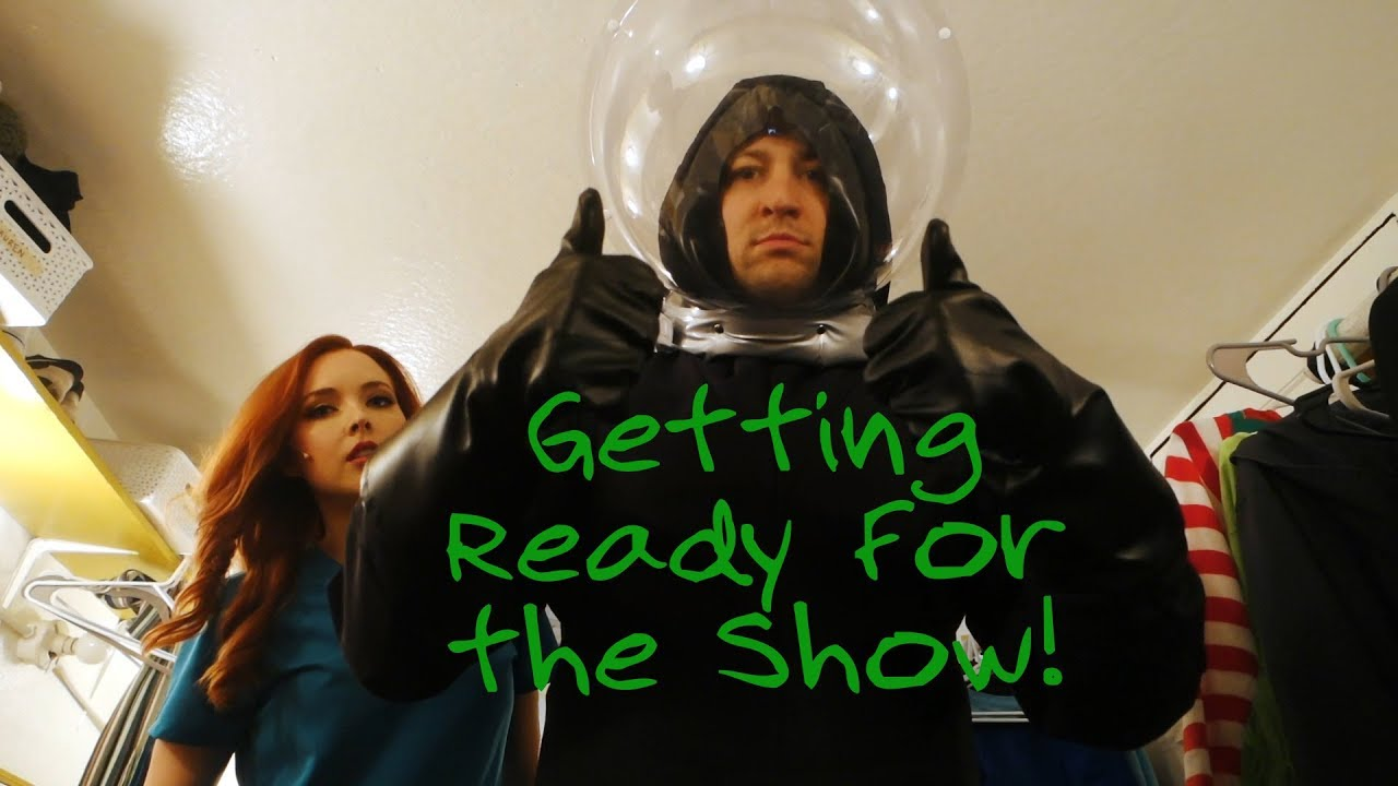 Getting Ready For A Starkid Show Black Friday Youtube