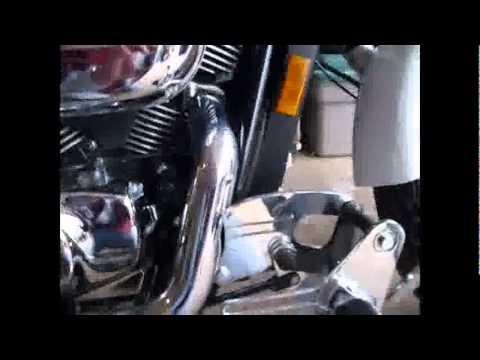 Installing Forward Controls On A Honda Shadow 750 Spirit