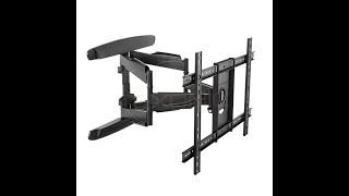 How to install a Dual Arm Full Motion TV Wall Mount |Texonic Model XP6|