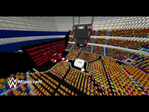 WWE: Minecraft [Raw Stage 2017 (With Crowd)] + (Download Link)