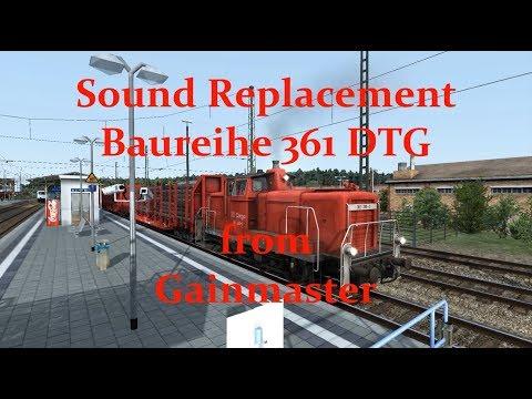 Sound Replacement Baureihe 361 DTG from Gainmaster