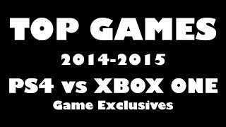 TOP GAMES 2014 - PS4 vs XBOX ONE vs PC Games