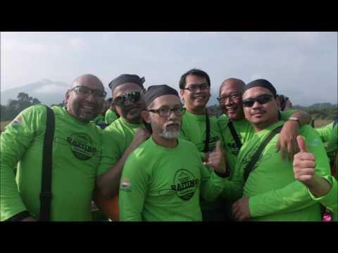 Team Building White Water Rafting Sapura Kencana TL Offshore Repsol