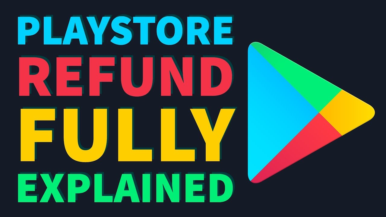 how to get refund on google play store