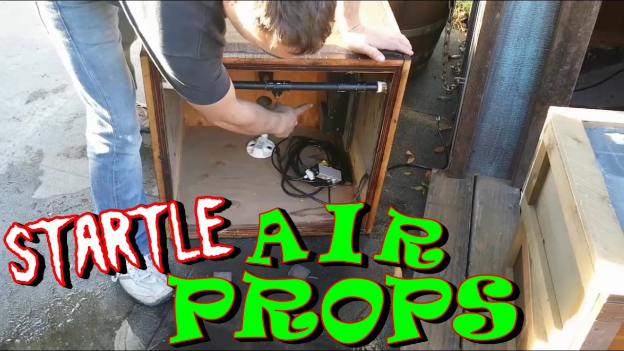 Setting Up Compressed Air System Amp Pneumatic Props Youtube