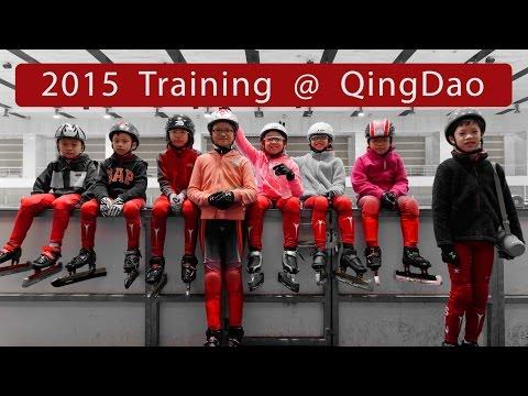 2015 Training at QingDao (Singapore Junior Short Track Speed Skating)