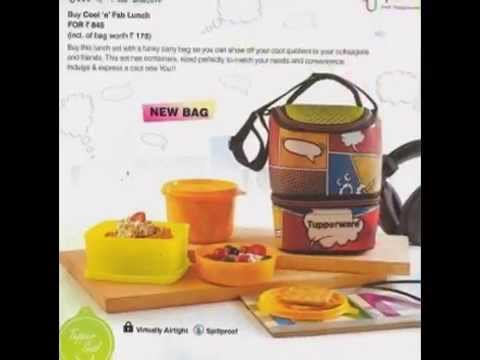 Tupperware April 2014 flyer