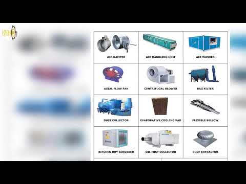 DUSTECH : Air Purification & Ventilation Products - Complete HVAC Project Engineering Solutions