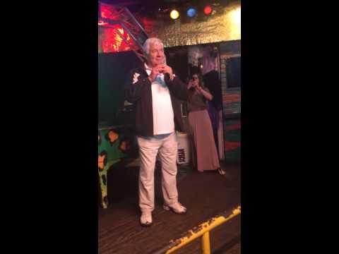 WWE Hall Of Famer Pat Patterson does karaoke