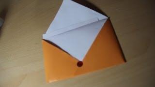 How To Make Origami Letter Envelope