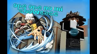 [Roblox] Steve's One Piece | Ope Ope No Mi Showcase