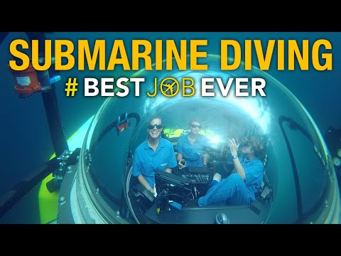 Submarine Diving in Deep-Sea Galápagos | Best Job Ever