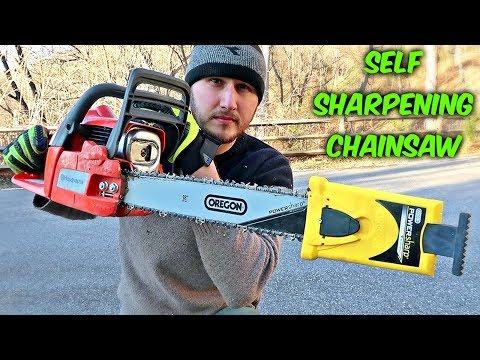 Self Sharpening Chainsaw