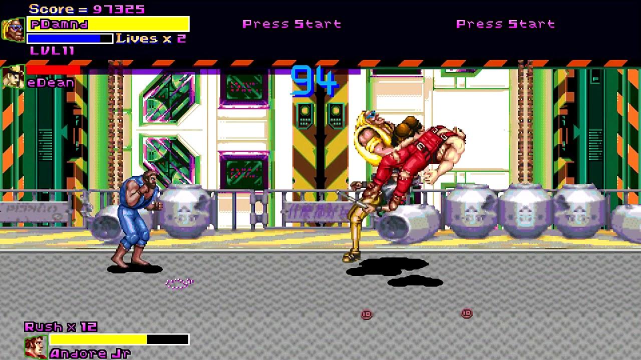OpenBoR games: Final Fight Boss playthrough