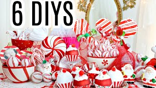 ?6 DIY DOLLAR TREE CHRISTMAS D…