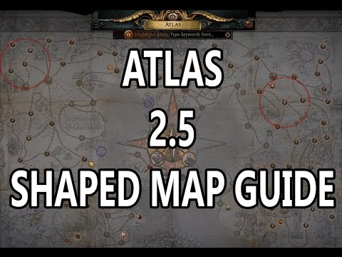 Atlas 2.5 Shaped maps guide
