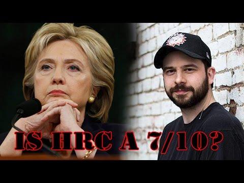 Steve Shives Thinks Hillary Clinton is a 7/10
