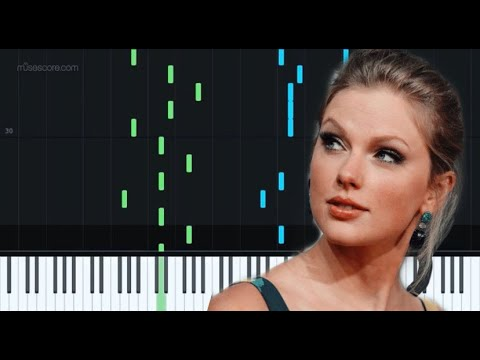 Cornelia Street - Taylor Swift  [Piano Tutorial + Sheet music] by Giovana D. Negri thumbnail