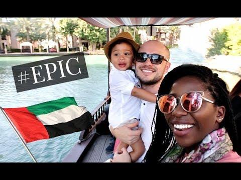 OUR EPIC DUBAI ADVENTURE #VisitDubai   AdannaDavid