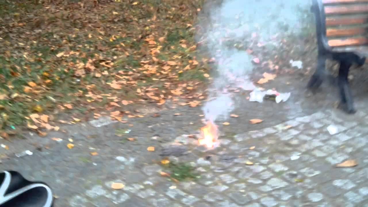 Polenböller Unfall