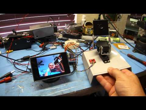 Gyroscopic Stabilization of a Self-Balancing Robot Bicycle