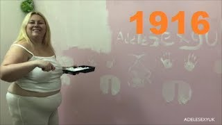 ADELESEXYUK PAINTING MY BEDROOM WALL WHITE