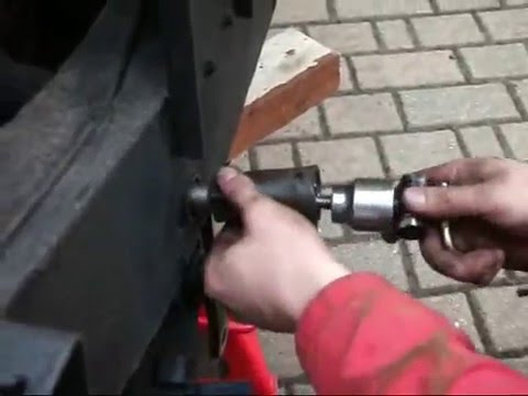 How To Use Homemade Bush Extractor Eool To Replacing