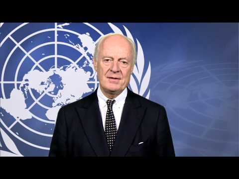 Statement by the United Nations Special Envoy for Syria, Staffan de Mistura.
