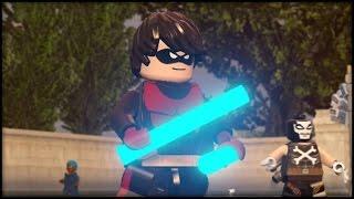 LEGO MARVEL AVENGERS - Customs - Creating Dr. Doom & Nightwing!
