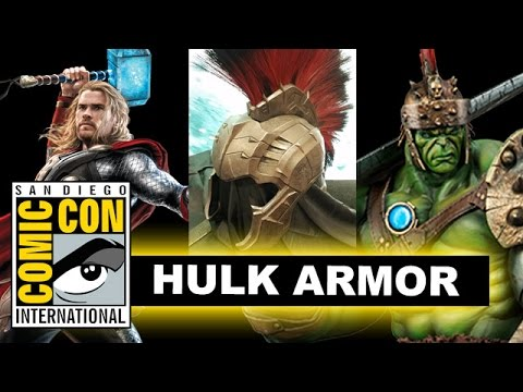 Planet Hulk Armor for Thor Ragnarok - Comic Con 2016