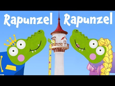 Rapunzel Rapunzel Cartoon | Silly Crocodile Fairy Tales & Bedtime Stories for Kids | Princess Story
