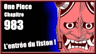 """One Piece Chapitre 983 - CRITIQUE ANALYSE : """"L'entrée du fiston !"""""""