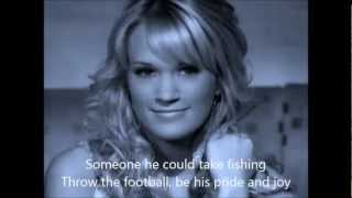 Carrie Underwood - All American Girl with Lyrics