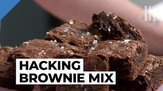 How to Make the Best Brownies From a Boxed Mix | Food Hacks with Claire