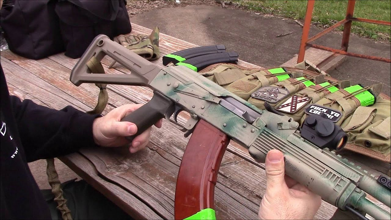 AK-47 Fighting Rifle Update - YouTube