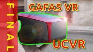 Gafas UCVR: Unboxing y opinión final en español - Gizchina.es