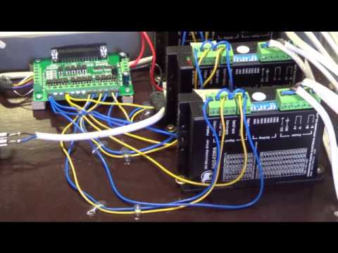 DB25-1205 breakout board and DQ542MA wiring - YouTube