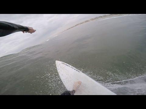 Surfing POV | February 21st | 2017 (RAW FOOTAGE)