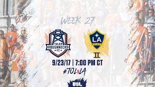 USL LIVE - Tulsa Roughnecks FC vs LA Galaxy II 9/23/17 thumbnail