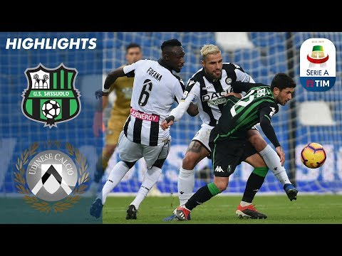 Sassuolo 0-0 Udinese   Points Shared in Tight Match   Serie A