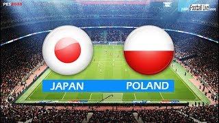 PES 2018 | JAPAN vs POLAND | Full Match & Amazing Goals | Gameplay PC