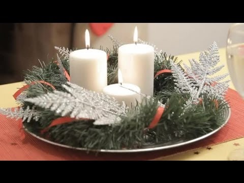 How To Make A Christmas Table Centrepiece Christmas Crafts For The